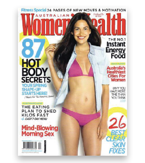 Jeunesse In The Press - Womens Health