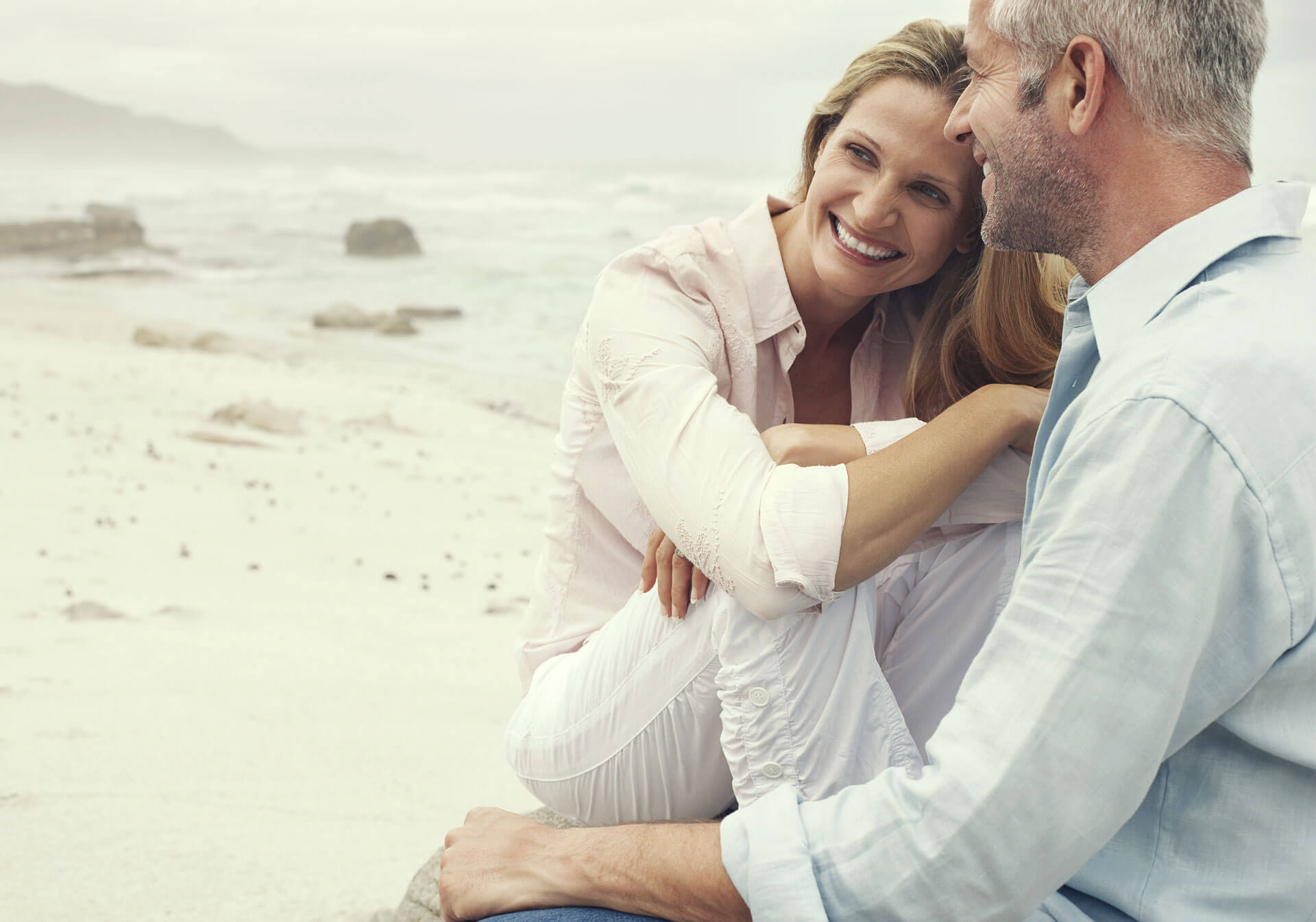 Jeunesse Global Older Beach Couple
